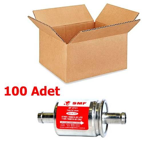 100 Adet SMF LPG Filtresi 14x14